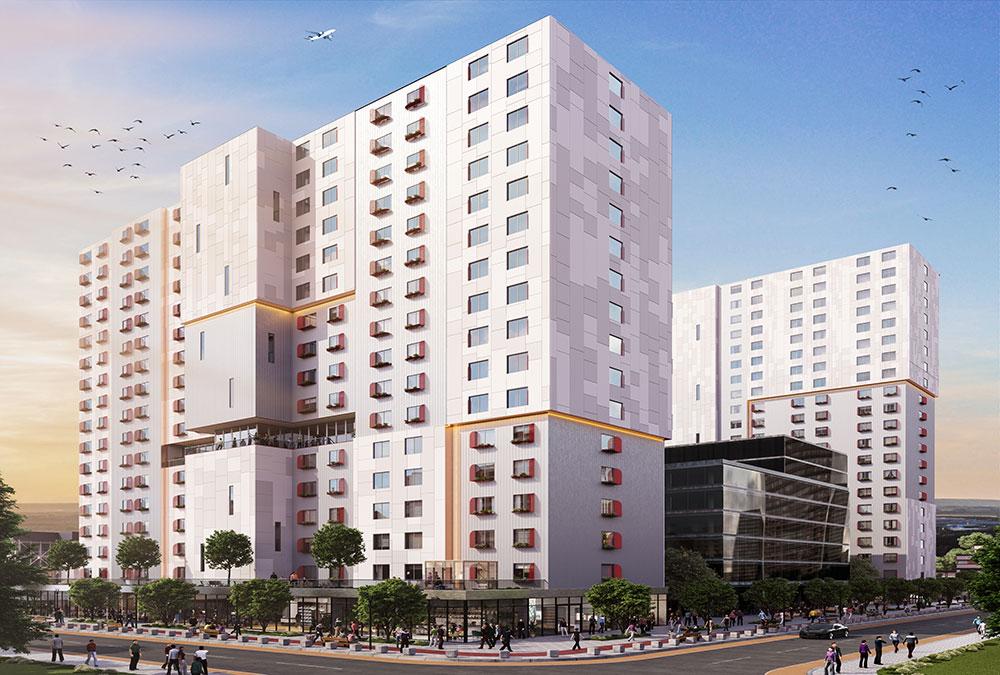 Stack Modular Highrise Multi-Family Residential